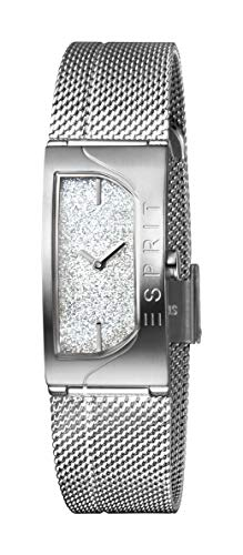 Esprit Damen Analog Quarz Uhr mit Edelstahl Armband ES1L045M0205 (Esprit Uhren Für Frauen)