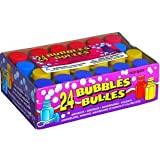 Seifenblasen 24 Stück für Kindergeburtstage Hochzeiten Party Bubbles