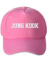 b0aebadc234 Fancyku Kpop BTS Bangtan Boys Baseball Cap Adjustable Casual Sports Hat  Snapback Hip Hop Flat Hat