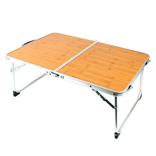 Betty Tabelle Bambus Holz Mini Klapptisch Outdoor Camping tragbare Picknick Grill kleinen Tisch Bett Laptop Tisch