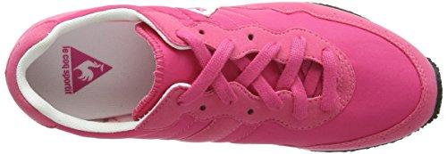 Le Coq Sportif Milo Vintage W Damen Knöchelfreie Sneaker Pink (Honeysuckle)