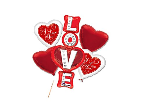 Irpot - bouquet n 1 love stacked palloncini