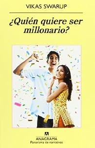 ¿Quién quiere ser millonario? par Vikas Swarup