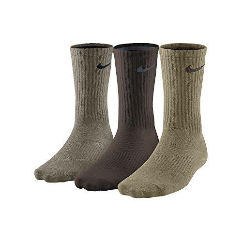 Nike Men's Lightweight Cushion Crew Socks 3-Pack (Socken Running Athletic Crew)