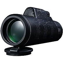DELIPOP Telescopio monocular de visión nocturna 1000M 8x42 Lente BAK4 resistente a la humedad impermeable para viajes al aire libre
