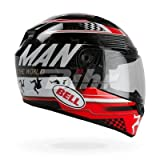 Bell Helmet Qualifier DLX Isle Of Man Black/Red, Größe L