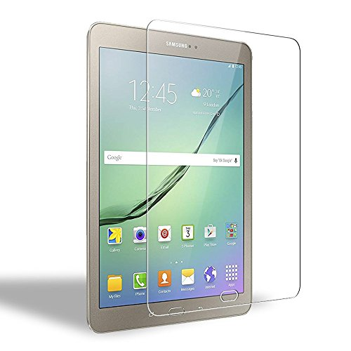 Samsung Galaxy Tab S3/S2 9.7 Panzerglas Schutzfolie, WEOFUN Displayschutzfolie für Samsung Tab S3/S2 9.7 Zoll[0.33mm, 9H, Ultra-klar]