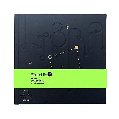 SanXia Polaroid Fotoalbum 12 Constellation Serie Polaroid DIY Fotoalbum Erinnerungsalbum mit bunten Aufklebern für Valentinstag, Geburtstagsgeschenk, Jubiläumsgeschenk, Reiserekord Libra - Libra-serie