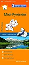 Midi-Pyrenees - Michelin Regional Map 525