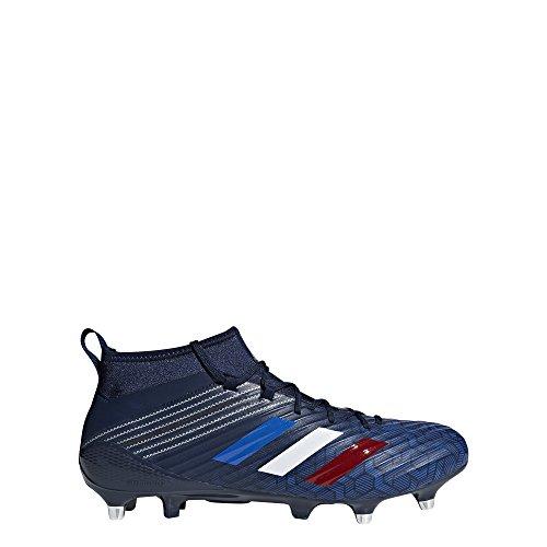 adidas Predator Flare (SG), Chaussures de Rugby Homme bleu marine/bleu/argent