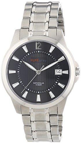 Pure grey Titan Herrenuhr Saphirglas 1758.9095
