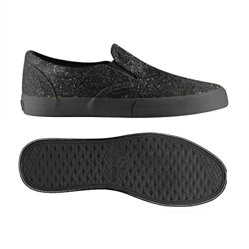 Sneaker Superga 2311 Lamew Damen Total Black