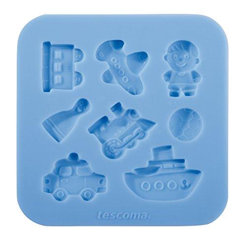 Tescoma 633012 Stampo in Silicone per Pasta di Zucchero per Bambini