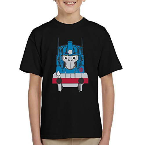 Opthomas Prime Transformers Thomas The Tank Engine Kid's T-Shirt (Tank Thomas Shirt Engine)