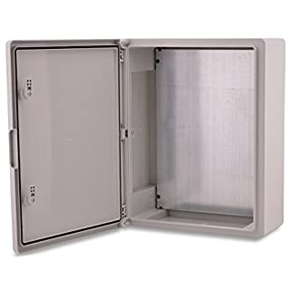Boxex Pert Wall Cabinet Case 350x500x190mm IP 65/Grey Electrical Distribution Box