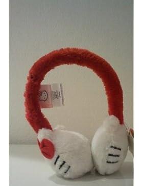 Cache orecchie nodo raso bambino ragazza hello kitty 3colori, taglia unica