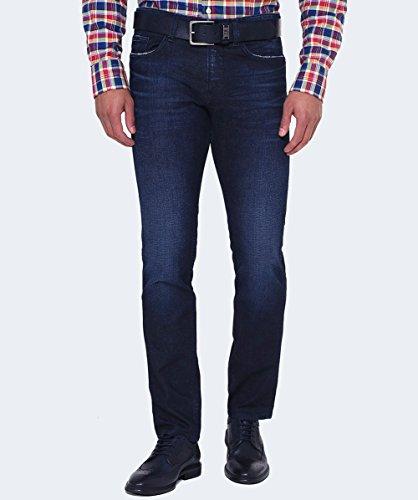 BOSS Hommes Jeans Delaware3 ajustement régulier Bleu Moyen Bleu Moyen