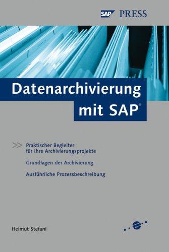 Datenarchivierung mit SAP.