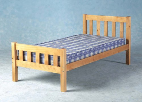 Comfy Living 3ft (90cm) Single Carlow Wooden Bed Frame