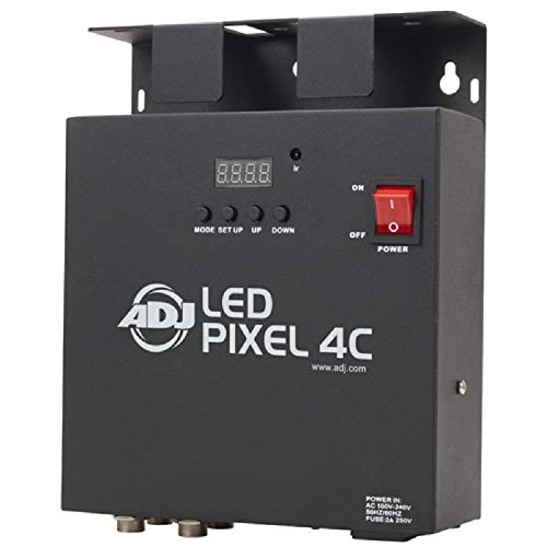 Amercian DJ 1211500009 LED Pixel 4C Scan Controller (4-Kanal, 72 Watt) (Controller Rgb Dj American)