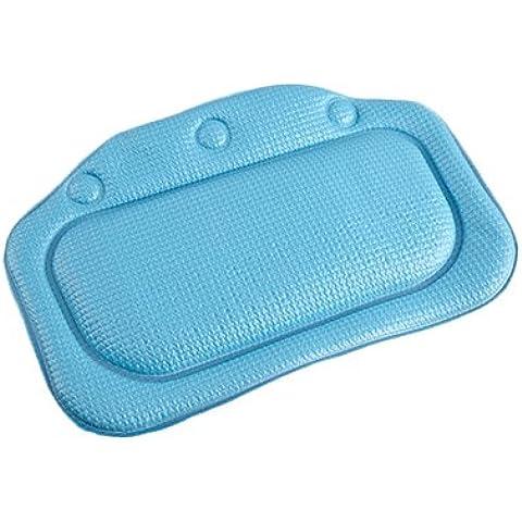 Halovie Cuscino per vasca da bagno Cuscino cervicale per vasca Materiale impermeabile Comodo per dormire, spa e bagno Molti colori
