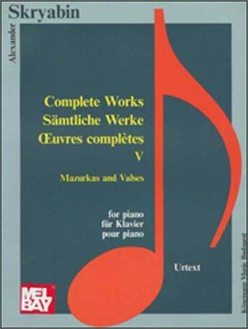 Sämtliche Werke (Music Scores)