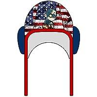 Bonnet de Water Polo USA Soldier Unisexe Homme et Femme Première qualité  Natation Hockey subaquatique Rugby