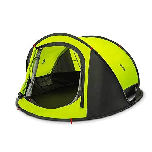 Zenph tenda da campeggio 2 posti, automatico pop up tenda impermeabile leggero portatile con borsa da trasporto