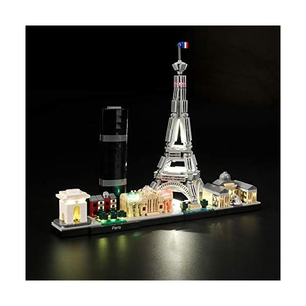 LIGHTAILING Set di Luci per (Architecture Parigi) Modello da Costruire - Kit Luce LED Compatibile con Lego 21044 (Non… 1 spesavip