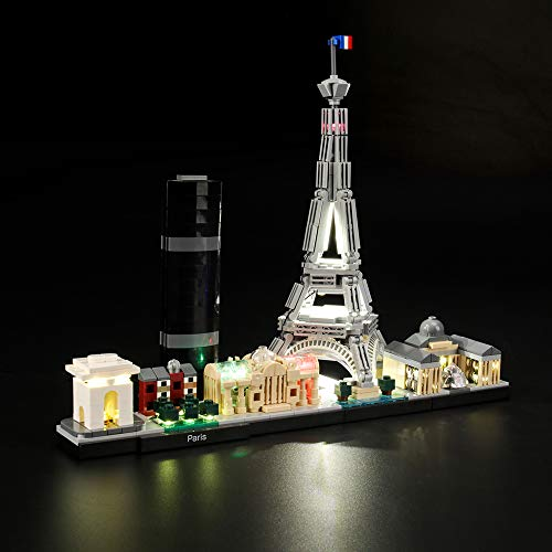 LIGHTAILING Conjunto Luces Architecture Paris Modelo