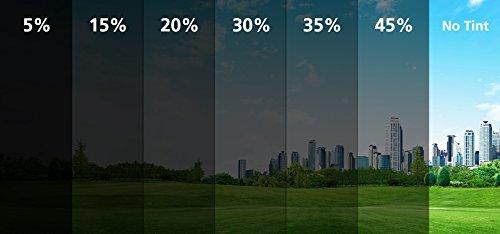 Foglie e Tinte adesivi per finestrini (Dark Smoke 15%)