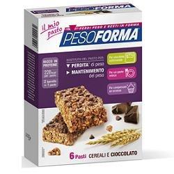 Nutrition & sante' italia pesoforma barrette crl/cioccolato - 380 g