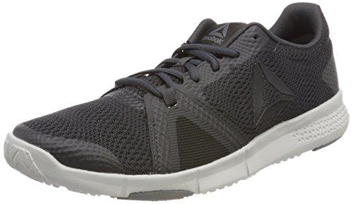 Reebok Herren Flexile Fitnessschuhe Grau (Coalblackalloyskull Grey 0)
