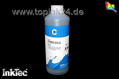 InkTec, encre de pigmentation, encre de recharge Recharge, 750ml, encre Refill Ink d'encre pour cartouches d'encre BK K Noir Noir Canon pgi-1500pgi-2500XL Maxify iB 4000, IB 4050, Mo 2000, Mo 2050, Mo 2300, Mo 2350, Mo 5000, Mo 5050, MB 5300, MB 5350, Maxify iB4050, MB2050, MB2350, MB5050, MB5350pas de 01L/No OEM c5000d _ 750ml 1000ml 1L Cyan