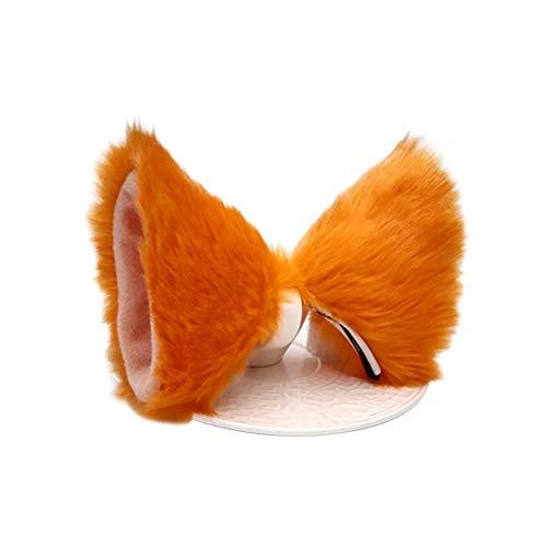 Outtybrave Haarspange mit Katzenohren und Fell-Ohren, Anime, Cosplay, Cosplay, Party Kostüm