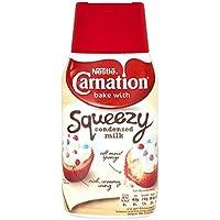 Carnation Leche Condensada Azucarada Botella Squeezy 450g