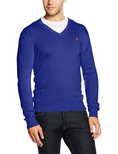 Polo Ralph Lauren Herren Sportpullover LS SF VN PP, Blau (New PERWINKLE A461B), Medium