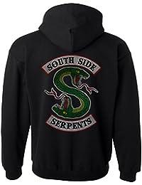 Indy Visuals Riverdale Southside Serpents Jughead FP Jones Distressed Unisex Sweatshirt