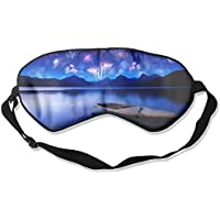 Boat Fireworks Lake Mountain Sleep Eyes Masks - Comfortable Sleeping Mask Eye Cover For Travelling Night Noon... preisvergleich bei billige-tabletten.eu