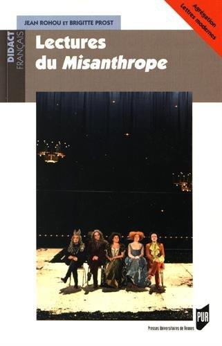 Lectures du Misanthrope par Jean Rohou