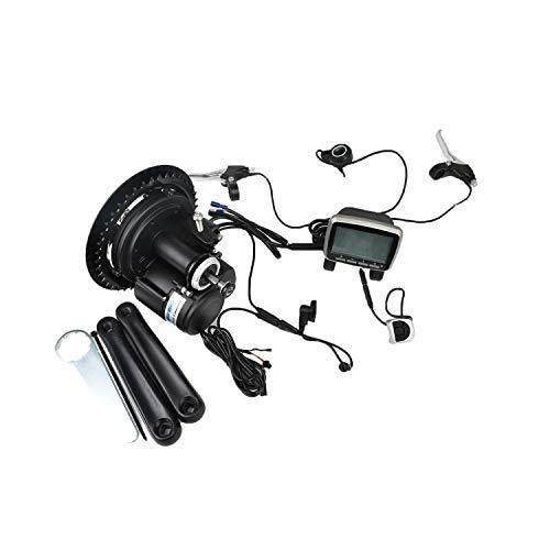 e bike mit mittelmotor und ruecktrittbremse Pswpower EU No Tax 48V500W / 48V750W 15A TSDZ2-Mittelmotor mit Drehmomentsensor, Drosselklappenbremshebel (VLCD5 500W) (Lager Deutschland) PTS-LCD5-48ZB