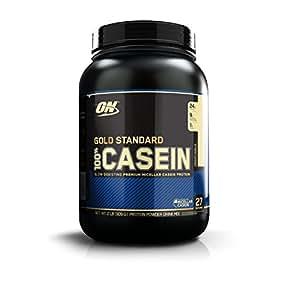 Optimum Nutrition Gold Standard 100% Casein Protein Powder Creamy Vanilla, 908g