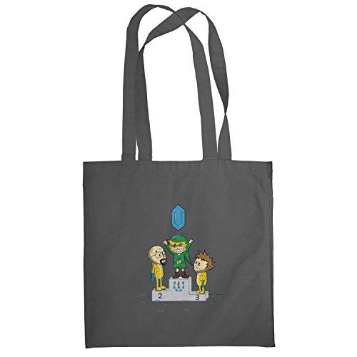 Texlab–Blue Crystal–sacchetto di stoffa Grau