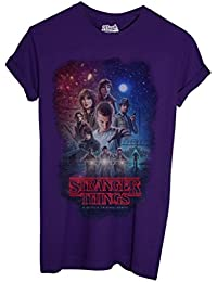 T-Shirt Stranger Things Personnages Science Fiction - Film By Mush Dress Your Style