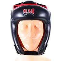 M.A.R InternationalLtd Kickboxing Head Guard Boxing Thai Boxing Mma Muay Thai Taekwondo Karate Judo Training Senior