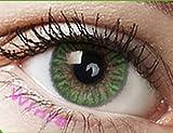 Farbige Kontaktlinsen Monatslinsen grün