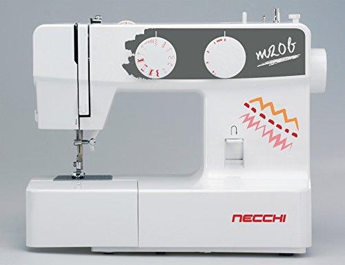 Necchi máquina para coser M20b–5años de garantía