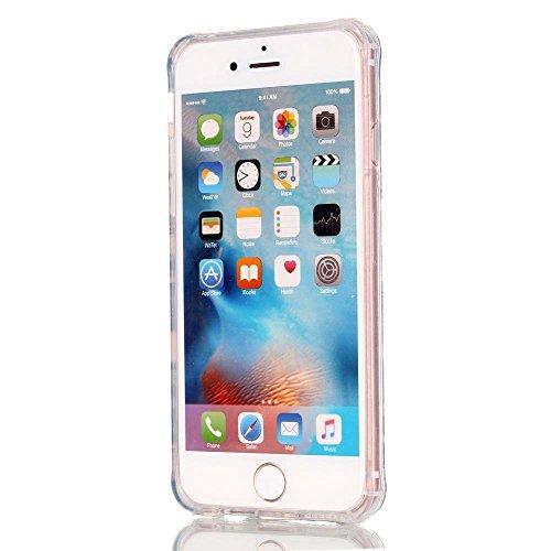 """MOONCASE iPhone 6S Plus Coque, Brushed Glitter Sparkle Bling Coloré Motif Étui Coque pour iPhone 6 Plus / 6S Plus 5.5"""" Soft TPU Gel Souple Case Housse de Protection High Heels Deer"""