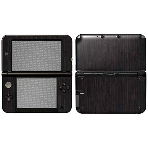 atFoliX Nintendo 3DS XL (2012) Skin 'FX-Wood-Dark-Wenge' Sticker Pegatina - Estructura de madera / Lámina de madera