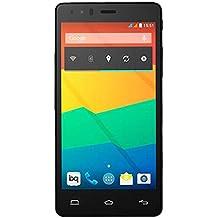 BQ Aquaris E5 LTE - Smartphone libre Android (pantalla 5 pulgadas, cámara 13 Mp, 16 GB, Qualcomm Snapdragon 1.2 GHz, 1 GB RAM), negro
